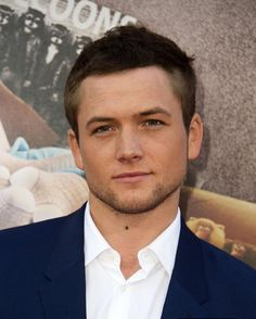 Headshot of Taron at the Sing movie premiere in Los Angeles on December 3, 2016 #TaronEgerton #SingMovie @singmovie