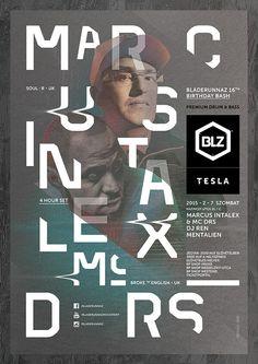 Marcus Intalex & MC DRS @ Tesla English Uk, Broken English, 16th Birthday, Birthday Bash, Uk D, Budapest, Dj, Event Posters, Reading