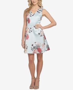 148.00$  Buy now - http://viaow.justgood.pw/vig/item.php?t=eeu8lm12631 - Rose Floral-Print Fit & Flare Dress 148.00$