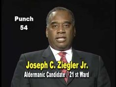 Joseph Ziegler is running Chicago Alderman in the 21 ward when you vote ...