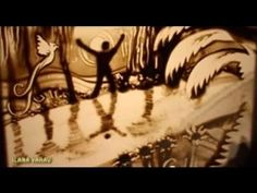 One Man's Dream: This Magical Sand Art Performance Is Beautifully Captivating To Watch.