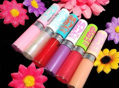 NEW Maybelline Baby Lips Moisturizing Lip Gloss! The beloved Baby Lips Balms have been glossed-up in some shiny new shades!