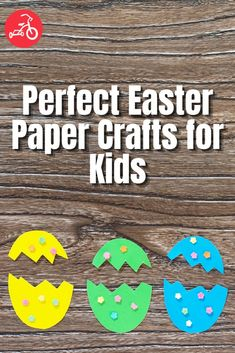 Your completely creative kid is ready for a paper craft, and you can practically smell the spring in the air. Yup, it's time to get artsy with Easter crafts for kids! We found some of the best, so, between bouncing bunnies and fun flowers, there's definitely an easy art activity here for everyone. Diy Kid Crafts For Boys, Paper Crafts For Kids, Easter Crafts, Diy For Kids, Holiday Crafts, Easy Art, Simple Art, Red Tricycle, Toy Craft