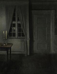 Danish Master Vilhelm Hammershoi. Photo from Sotheby's.