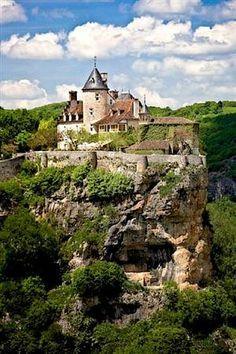 Château de Belcastel in Lot, France