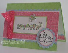 such a cute buggie card