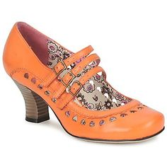 FREYA  Orange    Hush Puppies /zapatos vintage naranja Hush Puppies.