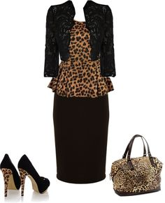 """""""Got to be wild"""" by dena455 ❤ liked on Polyvore"""