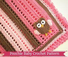 PATTERN+-+Crochet+Baby+Owl+Blanket