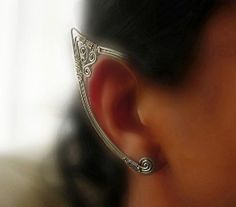 These amazing ear-wraps is made with steel wire and silver toned copper wire ...    kaboodle.com