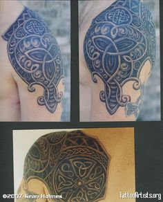 Armor Tattoo Designs | Tattoo By Erdogancavdar On Celtic Armor Shoulder 2 Roman Armour