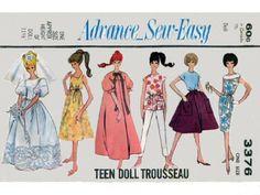 Advance Barbie pattern