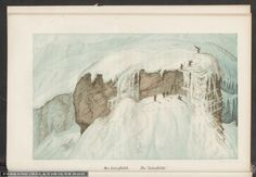 Das Leiterflühli. Rar259_0003 Painting, Art, Pics, Snow