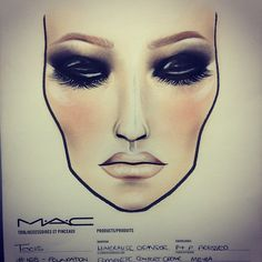 """Find and save images from the """"♥♔MAke Up♥♔"""" collection by ♔ on We Heart It, your everyday app to get lost in what you love. Makeup Charts, Beauty Queens, Halloween Face Makeup, Make Up, Face Charts, Mac, Chanel, Nude, Nails"""