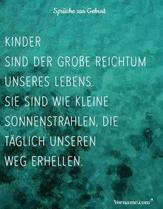Schöne Sprüche zur Geburt & Taufe The most beautiful sayings about the birth and baptism of a baby or your own baby. # sayings . Baby Feet Tattoos, Baby Name Tattoos, Cute Text, First Week Of Pregnancy, Birth Gift, Baby Birth, First Trimester, Love Live, Mother And Baby