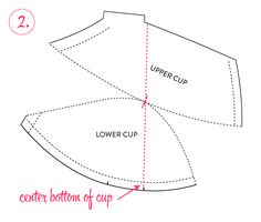 Bra-making Sew Along: Vertical Seam Variation