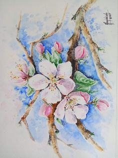 Watercolor, News, Painting, Art, Pen And Wash, Art Background, Watercolor Painting, Painting Art, Kunst