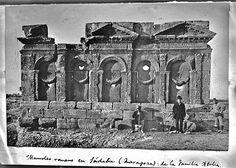 Sádaba (Zaragoza). Mausoleo romano de la familia Atilia. Finales del siglo XIX