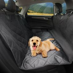 Amazon.com: Dog Seat Cover for Cars, TaoTronics Pet Car Seat Covers , Dog Hammock, Slip-proof, Waterproof.: Automotive