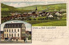 Ratskeller Bad Salzschlirf, gelaufen 1904
