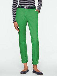 The Weekend Chino, Bright Fern #Talbots