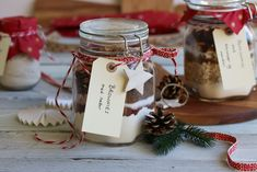 Holidays And Events, Christmas Diy, Diy And Crafts, Gift Wrapping, Place Card Holders, Jul Diy, Blog, Baking, Gift Wrapping Paper
