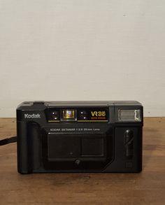Vintage Kodak VR 35 Camera 1980's Compact 35mm by HailleysCloset