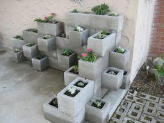 7 kreativa lösningar med betongblock till uteplatsen - Sköna hem