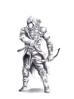 assassins creed drawing connor - Penelusuran Google
