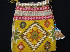 Antique English beaded bag by hastearsofcloth on Etsy,