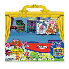 Colorforms® Moshi Monsters Colorfelts® Storyteller Scenes