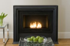 Hearth Cabinet. Ventless Fireplace. Made In Brooklyn. RenovierungLinearer  KaminModerner ...