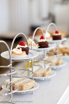 High tea {or a lovely upscaled buffet}