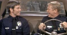 The two stars of cast their own kids on the show, too Gary Owen, Martin Milner, Adam 12, The Rifleman, Los Angeles Police Department, The Andy Griffith Show, Hot Cops, Childhood Tv Shows, Pierce Brosnan