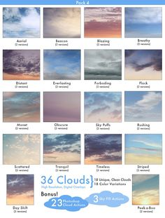 JD Cloud Overlays Pack 4