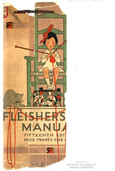 Fleisher's knitting & crocheting manual : the Fleisher yarns.