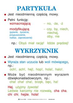 Wersus - pomoce dydaktyczne - Język polski, część 1 - Ortografia i części mowy Aa School, School Notes, Humor Videos, Polish Language, Language And Literature, Valentine's Day Quotes, Humor Grafico, School Hacks, School Organization