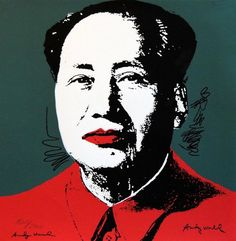 Mao (1986) by Andy Warhol #PopArt
