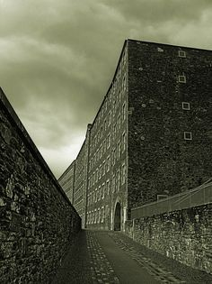 New Lanark, Scotland. New Lanark is the site of an 18th century cotton mill founded by David Dale and Robert Owen. It has undergone extensive renovation and restoration since the 1960s and is now a UNESCO World Heritage Site.