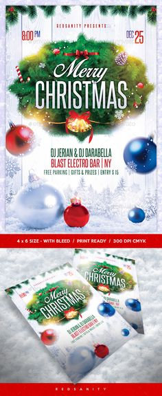 #Christmas #Flyer - Clubs & Parties Events