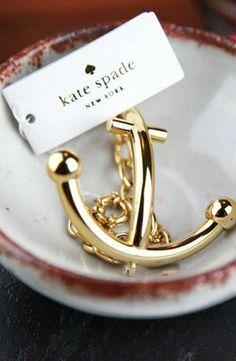 Kate Spade New York Anchors Away Bracelet #accessories  #jewelry  #bracelets  https://www.heeyy.com/suggests/kate-spade-new-york-anchors-away-bracelet-gold-1/