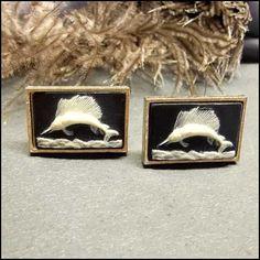 Vintage Cufflinks Dante Marlin Sailfish 1950s Vintage Jewelry http://www.greatvintagejewelry.com/inc/sdetail/vintage-cufflinks-dante-marlin-sailfish-1950s-vintage-jewelry-/17489/18396