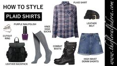 How to Style It: Plaid Shirts