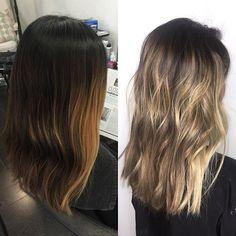 B a l a y a g e ✨ Cool Haircuts For Girls, Natural Hair Styles, Short Hair Styles, Dream Hair, Everyday Hairstyles, Balayage Hair, New Hair, Hair Inspiration, Hair Ideas