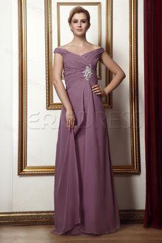 Charming Beaded A-line Floor-Length Alina's Mother Dress Plus Size Mother Dresses - ericdress.com 3821098
