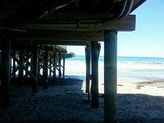 Beach camping in San Clemente, California