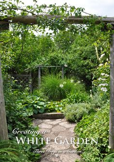 The white garden at Larkwhistle Garden on the Bruce Peninsula. One of the most celebrated and iconic gardens in the world is one ...