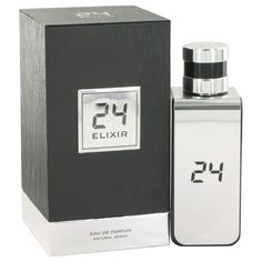 Classy and enchanting, 24 platinum elixir is a masculine fragrance with a sensitive side. Created by the scent designers at scentstory, this fragrance for men features the earthy, rich and warm notes of galbanum and sandalwood, which are combined harmoniously with the subtle citrus and floral scents of juniper berries and rose. Sophisticated and informal, this elixir is perfect for a day at the office, for a night on the town or for your date with that someone special.