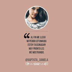 La hermosa Daniela Baptista recibió su Box Tumaqui. - @baptista_daniela al fin me llego mi pedido @tumaqui fascinada pronto les iré mostrando. - #tumaqui #makeup #maquillaje #tips #belleza #contorno #makeuplover #makeuprevolution #labios #lipstick #iluminador #vidademaquilladora #gloss #blogger #envios #gratis #nacional #internacional #box #productos #instamakeup #base #blush #maquillador #delineador #makeupaddict #fashion #mujer #moda #makeupfan