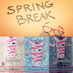 Pink Zebra Recipes- Spring Break Featuring : Beach Breeze; Turquoise Waters and Stone Washed Denim